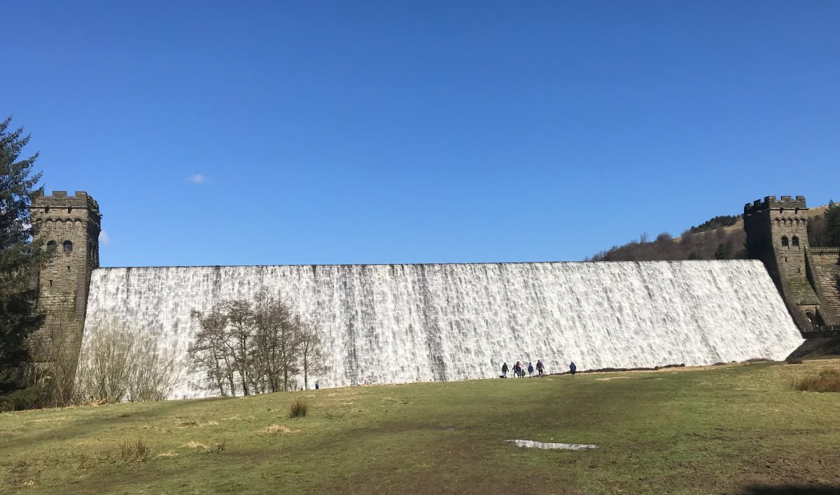 The sun is out at Ladybower Reservoir
