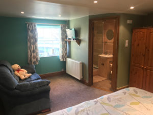 Chatsworth double room Manor farm peak district bnb